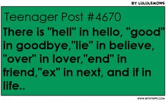 Hell in hello