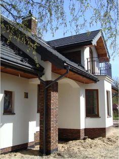 KOLORY TYNKU New Homes, Cottage, Houses, Outdoor Decor, Home Decor, Gardens, Modern Houses, Trendy Tree, Homes