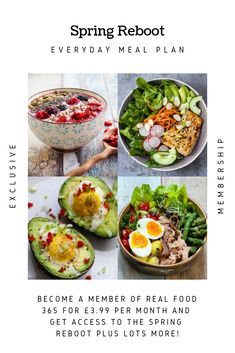SPRING REBOOT food, spring recipes, spring menu ideas, spring dinner party recipes,   spring party food ideas, spring recipes, spring menu ideas 2019, spring recipes   vegetarian, spring season food items, Grain-Free Granola with Kiwi & Blueberries,   Chocolate Smoothie Bowl, Strawberry Omelette,