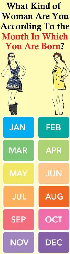 What Kind Of Woman Are You According To The Month In Which You Are Born! is part of health-fitness - health-fitness Herbal Remedies, Health Remedies, Natural Remedies, Negative Traits, New Friendship, Meaningful Conversations, Meeting New Friends, Birth Month, Living At Home