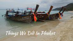 THAILAND, PHUKET, PHI PHI ISLAND AND AO PHANG NGA NATIONAL PARK