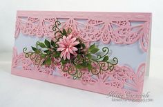 Border Framed Floral Spray by kittie747 - Cards and Paper Crafts at Splitcoaststampers