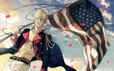 Axis Powers: Hetalia, United States, Country Flag, Independence Day