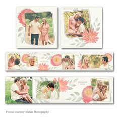 Flomay Accordion Mini Book  - available through Jen Boutet Photography with your portrait session - in Charlottesville, Va.