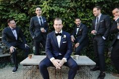 not to be outdone by his beautiful bride, the groom and groomsmen. Traci Griffin photography