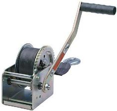 Dutton-Lainson DL1400AS 1400 lb Plated Pulling Winch with 20- Feet Strap