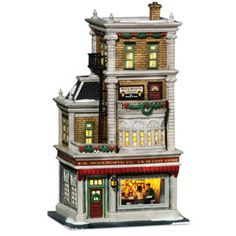 "Department 56: Products - ""Woolworth's"" - View Lighted Buildings  Wish list"