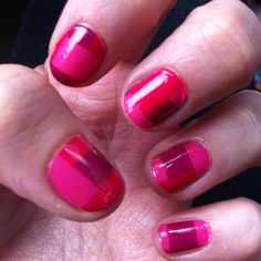 "Sally Hansen Salon Effects in ""How Romantic"" - my Valentine's Day manicure!"