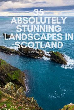 Put scotland on your bucketlist now as these Scottish landscapes will make you want to visit straight away! Scotland is a stunning country and its beauty is not to be missed! #scotland