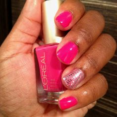 """Loreal nail polish """"check me out"""""""