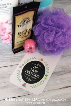 Mother's Day Gift Ideas with Free Printables