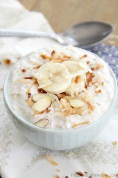 Coconut Cream Pie Overnight Oats