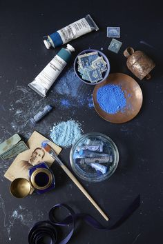I had so much fun working on this test shoot with prop stylist Ginny Branch , all about our love for blue! Love Blue, Blue And White, Blue Brown, Color Blue, Bleu Indigo, Azul Indigo, Bleu Turquoise, Cobalt Blue, Prop Styling
