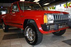 1988 Jeep Comanche all original condition Jeep Xj, Jeep Truck, Comanche Jeep, Camper Tops, Red Jeep, Jeep Brand, American Motors, Jeep Cherokee, Paint Ideas