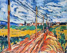 Maurice de Vlaminck, La Route on ArtStack #maurice-de-vlaminck #art