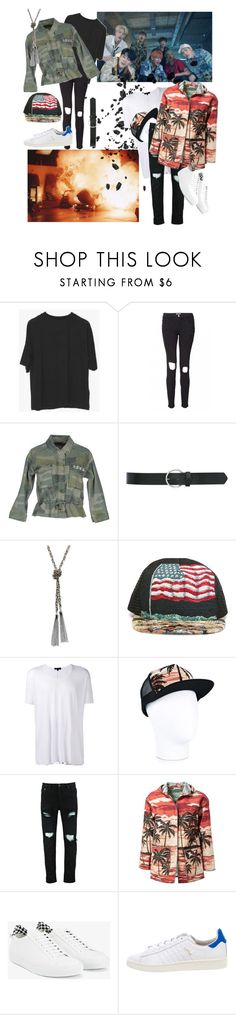 """""""Fire"""" by bangtansstyle ❤ liked on Polyvore featuring Frame, ONLY, M&Co, GUESS, Yves Saint Laurent, UNCONDITIONAL and Givenchy"""