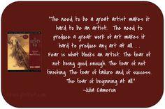 About making good art.