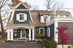 Blue House Design, Pictures, Remodel, Decor and Ideas - page 2