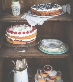 Page from 'Three Sisters Bake' Book. Jam packed with mouth watering cake recipes.