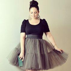 Addition Elle, looks we love, trends, plus size, curvy, tutu