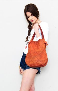 <3 this soft leather bag by Treasure Blue