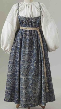 Pretty Outfits, Pretty Dresses, Cool Outfits, Ethno Style, Vintage Outfits, Vintage Fashion, Russian Fashion, Mode Vintage, Historical Clothing