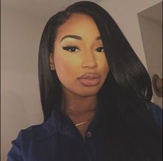 Brazilian Straight Human Hair Wigs Adjustable Pre Plucked top lace Closure HumanHair Wigs 100 Unprocessed Remy Hair For Black Women Big Chop, Weave Hairstyles, Cool Hairstyles, African Hairstyles, Hairstyles 2016, Makeup Black, Hair Colorful, Karin Jinsui, Natural Hair Styles