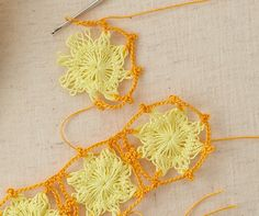 Hairpin lace- so pretty! GIMME GIMME GIMME!