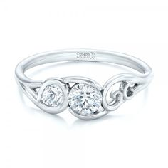 Custom Diamond Engagement Ring | Joseph Jewelry | Bellevue | Seattle | Online | Design Your Own Engagement Ring