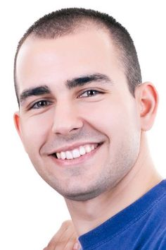 Medium Buzzcut for Receding Hairline on Haircuts for Men | Pictures of Mens Haircuts and Mens Hair Care