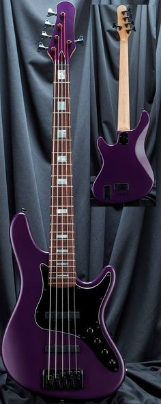 Kiesel Guitars Carvin Guitars killer Grape Jelly Metallic JB5