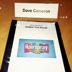 so excited about being in hairspray live