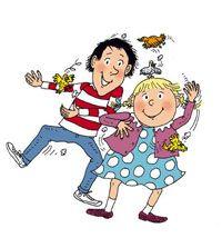 Tom-tom et Nana, dans les J'aime Lire (Bayard) et le dessin animée avant d'aller se coucher. Mon frère et moi