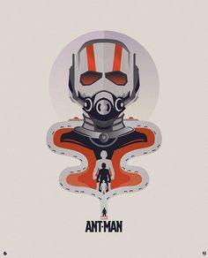 #Marvel #AntMan Poster by Matt Needle: