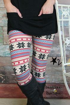 Winter fleece lined leggings. These are so cozy!  $10.99