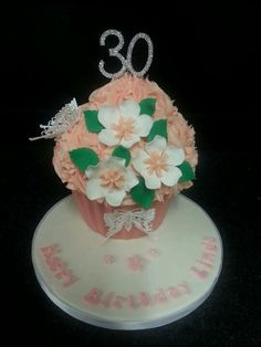 Ladies giant cupcake