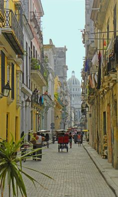 Views towards the Capitolio, Havana: http://bbqboy.net/photos-and-travel-tips-on-havana-cuba/ #havana #cuba