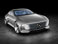 The Mercedes-Benz IAA concept car (Intelligent Aerodynamic Automobile). At the IAA Mercedes-Benz has presented their new models and latest Mercedes Benz Amg, Mercedes Car, Mercedes Concept, Quad, Carl Benz, Automobile, Daimler Ag, Super Sport Cars, Super Cars