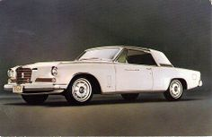1962 Studebaker GT Hawk Gran Turismo Detailed Illustration