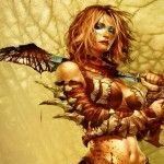 Fantasy warrior woman Wallpaper__yvt2