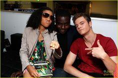 Comic Con 2012: Amandla Stenberg, Dayo Okeniyi, and Jack Quaid at The Hunger Games Cast Signing