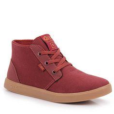 Tênis Skate Feminino Qix Way 7043 - Vermelho b91b60c8011