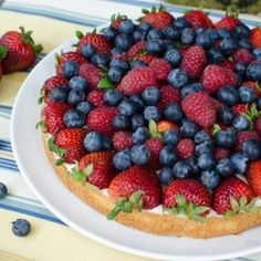 Quick fresh fruit tart recipe