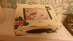 Hand painted picture treasure box :)