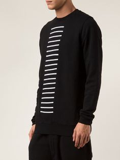 Visions of the Future // Rick Owens Drkshdw Sweat À Rayures