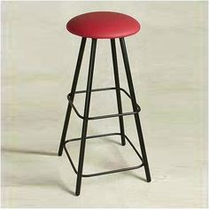 Grace Straight Leg Swivel Bar Stool with Cushion