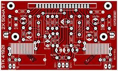 PCB Layout STK Amplifier Layout Design, Make It Yourself, Amp, Holiday Decor, Home Decor, Decoration Home, Room Decor, Home Interior Design, Home Decoration
