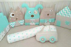 Бортики в кроватку LulaBooo Cute Pillows, Baby Pillows, Kids Pillows, Baby Boy Room Decor, Baby Boy Rooms, Handmade Pillows, Handmade Toys, Best Baby Toys, Business Baby