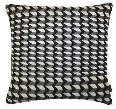 Cubist Large Square Cushion. Tribal Collection. Cotton, Acrylic and Polyester. Margo Selby. textile Design