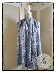 Rivendell stole by ManoFactured on Etsy